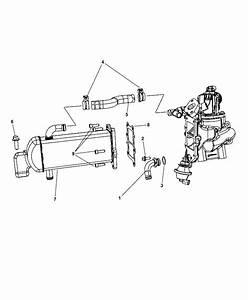 2015 Jeep Wrangler Egr Cooling System