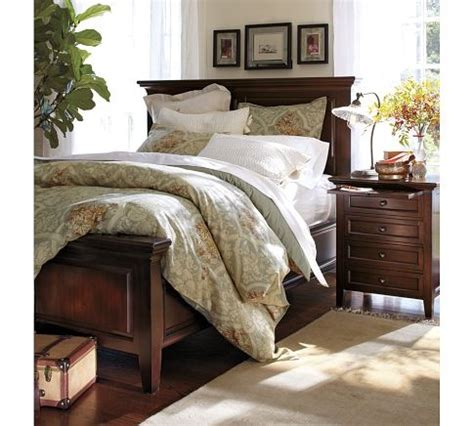 Bedroom Sets Pottery Barn by Fluted Glass Task Table L Hudson Bedroom Set
