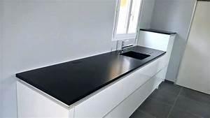Plan De Travail Cuisine Granit : avis plan de travail granit noir zimbabwe cuisine plans 4 ~ Dallasstarsshop.com Idées de Décoration