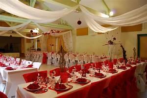 Décoration Mariage Rouge Et Blanc : d coration mariage blanc et rouge mariage toulouse ~ Melissatoandfro.com Idées de Décoration