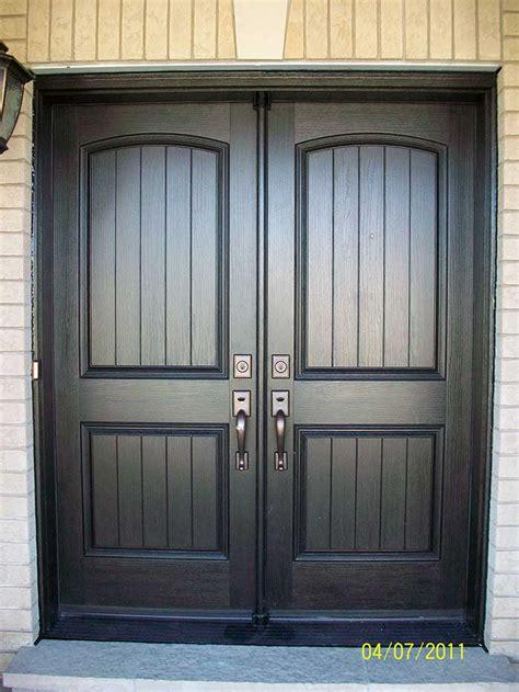 rustic front doors rustic fiberglass exterior doors