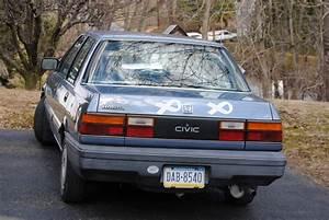 Cc Capsule  1987 Honda Civic  U2013 A Thank You Gift That Is