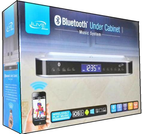 Ilive Cabinet System by Ilive Ikb333s Cabinet Radio With Bluetooth Speakers