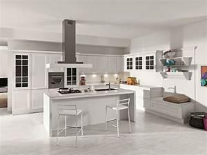 amenager une cuisine design avec ilot central With cuisine design avec ilot central
