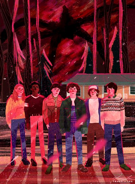I'll be watching you - Stranger Things 2 art by Tracy J ...