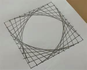 Circle with Straight Lines Designs