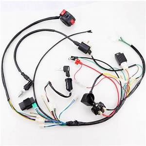 Full Electrics Wiring Harness Coil Cdi 50cc  70  110cc Atv