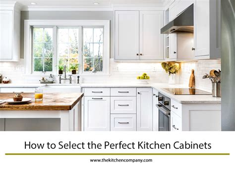 Select Kitchen Cabinets by How To Select The Kitchen Cabinets The Kitchen