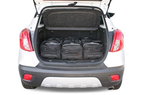 vauxhall mokka trunk mokka x opel mokka mokka x 2012 present car bags