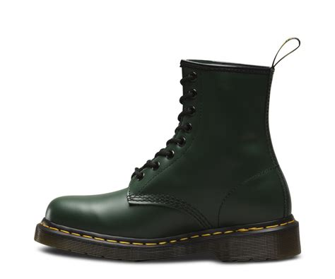 dr martens canada dr martens   green smooth green
