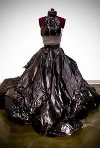 Garbage Bag Dress | Crazy costumes | Pinterest