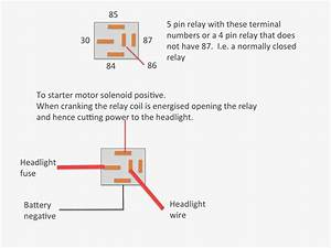 How To Wire A Relay To A Starter Motor Wiring Diagram