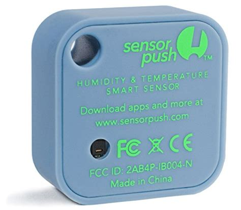 wireless thermometer iphone sensorpush wireless thermometer hygrometer for iphone
