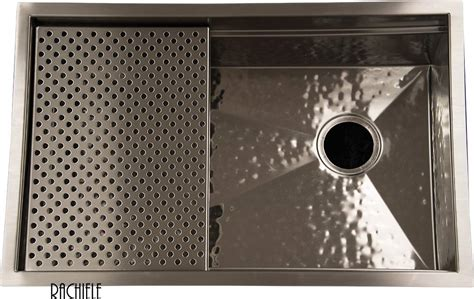 hammered stainless steel sink custom stainless steel sinks under mount and workstation