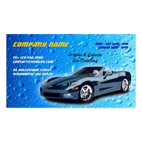 auto detailing business card zazzle