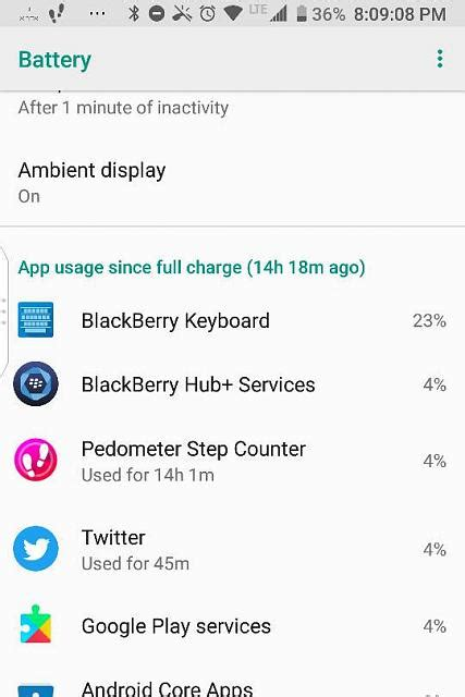 since when does the blackberry keyboard drain the battery like this blackberry forums at