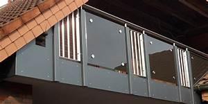 Sichtschutz Für Balkongeländer : balkonbau und balkongel nder aus kunststoff aluminium oder edelstahl online kalkulator ~ Markanthonyermac.com Haus und Dekorationen