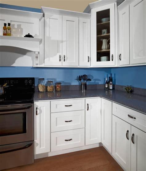 white shaker ready  assemble kitchen cabinets