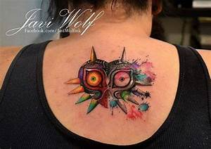 28 Majoras Mask Tattoo Majora S Mask By Xxkimraxx On