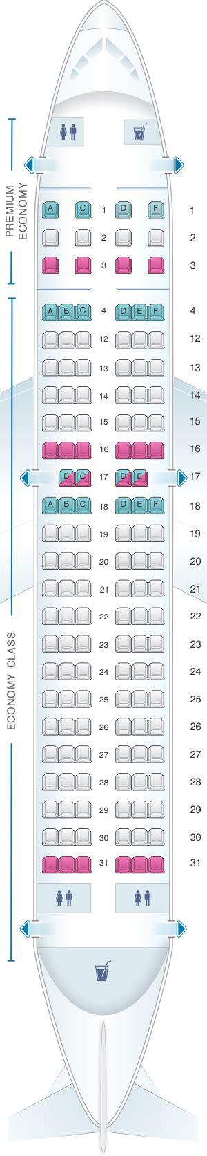 plan de cabine air canada airbus a319 100 config 3