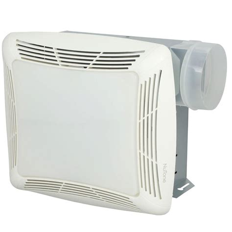 grill light and fan nutone 70 cfm ceiling exhaust fan with light white grille