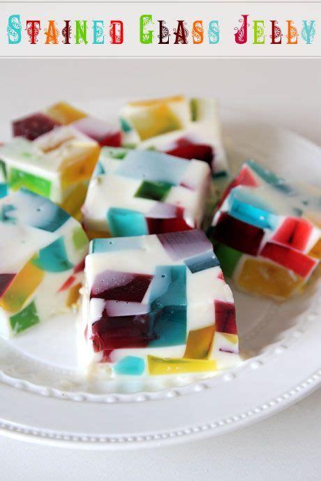 stained glass jelly jello recipe    nigella
