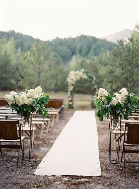 12 ways to make you wedding aisle fabulous