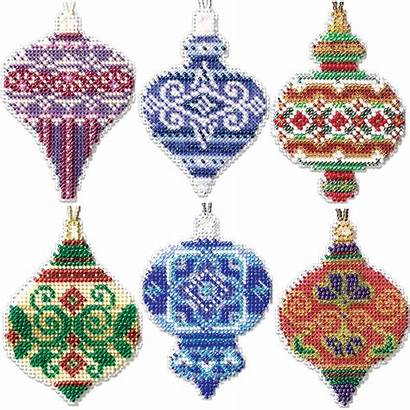 Cross Stitch Mill Hill Kit Ornaments Counted