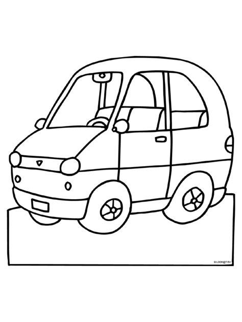 Kleurplaat Simpele Auto by Kleurplaat Auto Kleurplaten Nl