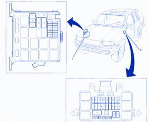 Isuzu Rodeo Ls 2004 Under Hood Fuse Box  Block Circuit Breaker Diagram  U00bb Carfusebox