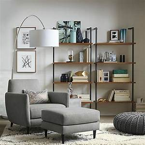 davausnet deco salon blanc beige gris avec des idees With tapis moderne avec canapé domino