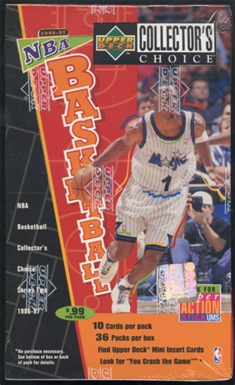 deck collectors choice 1996 1996 97 deck collector s choice series 2 basketball
