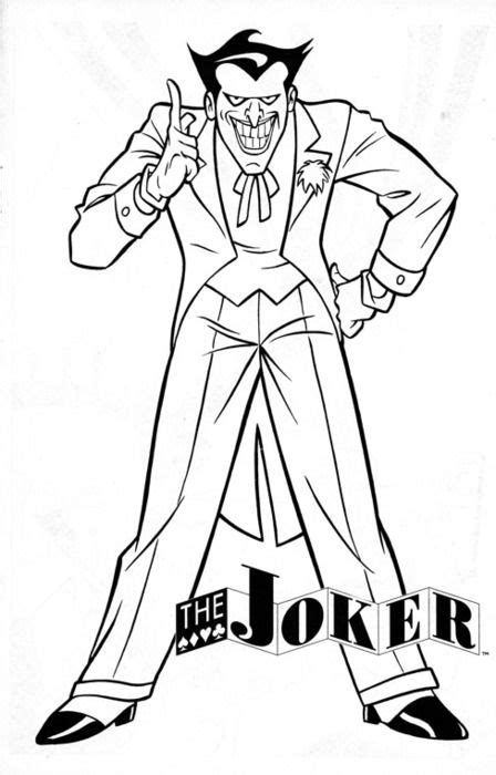 seasonal colouring pages  joker coloring pages