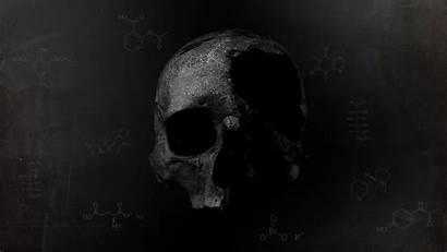 Skull Death Dark Chemistry Wallpapers Muerte Desktop