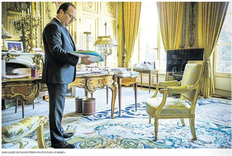 bureau pourri hollande dans bureau à l 39 elysée le notes de