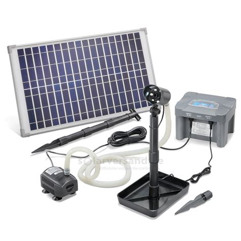 Solar Led Beleuchtung by Solar Wasserspiel Waterjet Mit Akku Und Led Beleuchtung