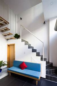 Narrow, Vertical, Home, Maximizes, Light, And, Space, In, Ho, Chi, Minh, City