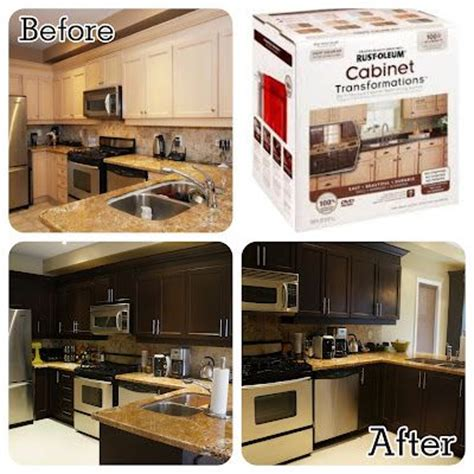 rust oleum cabinet transformations kitchen re do for the