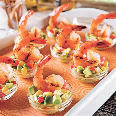 cuisiner crevette crevettes à la lime et salsa mexicaine recettes