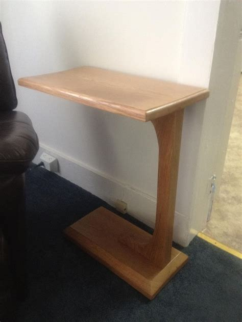hand crafted tv table tv tray side table by maple