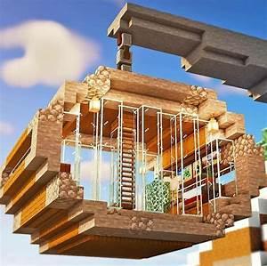 Minecraft, Survival, House, Ideas, Minecraft, Survival, House