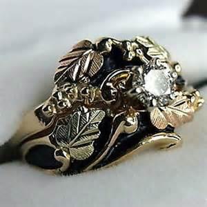 Black Hills Gold Wedding Rings