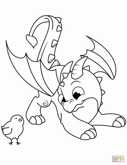 Dragon Coloring Pages Advanced Printable Colouring Getcolorings