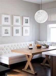 pourquoi choisir une table avec banquette pour la cuisine With salle a manger jardin pour petite cuisine Équipée