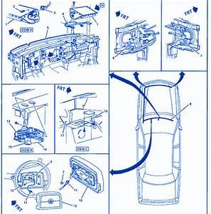 Gm Fleetwood Brogh 5 7 1999 Fuse Box  Block Circuit Breaker Diagram  U00bb Carfusebox