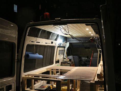 Bett Selbst Bauen Holz by Wohnmobil Bett Selber Bauen Lifesetter