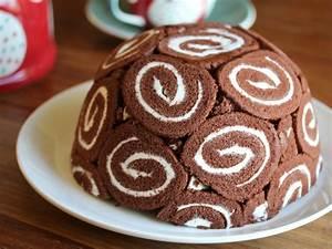 Swiss roll ice cream cake – Bangers & Mash
