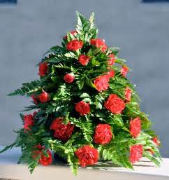 Flower Arrangement Christmas Tree