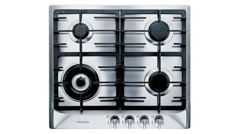 Buy Miele 600mm 4 Burner Natural Gas Cooktop Stainless