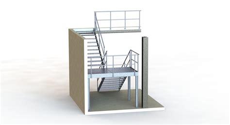 escalier industriel rdmetal bureau technique